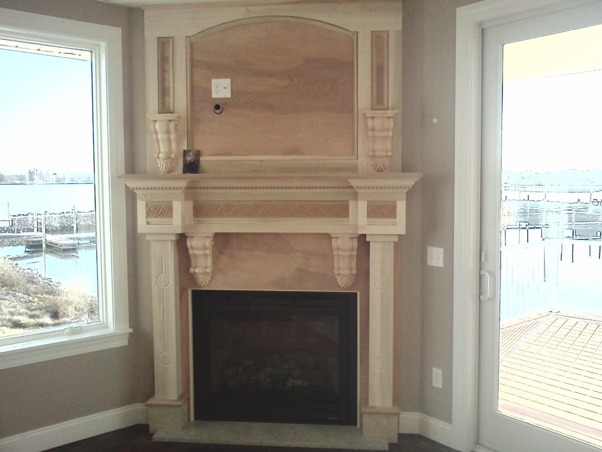 Custom fireplace graziano builders new construction for New construction fireplace